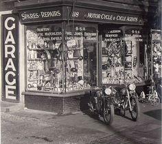 Jempson Motorcycle Dealership, Europe 1953