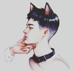 "Read Capítulo KaiSoo"" from the story CUTE CAT -----> KaiSoo,HunHan Y Chanbaek by (Mayelín :)) with reads. Kyungsoo, Chanbaek, Mamamoo, Exo Monster, Exo Fan Art, Latest Instagram, Kpop Fanart, Cute Drawings, Illustration"