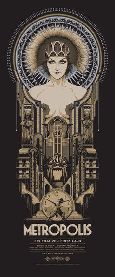 Dirigida por Fritz Lang en 1927,  Metropolis ha sido una de las películas más influyentes de la historia del cine. Y no sólo cinematográficamente hablando, sino en otros aspectos como los estéticos y los arquitectónicos...