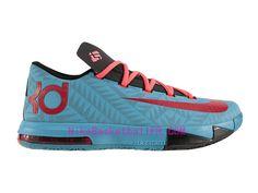 d3a2ed4081f9 Nike KD 6 N7 Pas Cher Turquoise foncé   Université Rouge-Noir-Rouge  626368-466 - NikeBasketballFr.com