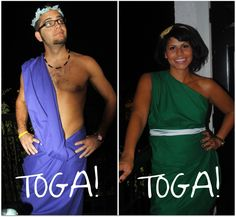 Toga parties are the quintessential Greek party, during which each sorostitute can demonstrate her own unique style while still dressing to match the overall theme. I've gone to a couple toga parti...