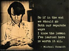 "Michael Nesmith ""Nine Times Blue"" LOVE this song."