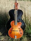 Arrow guitar shaped archtop mandolin. Very cool instrument. This type is on my bucket list  of instruments to build.