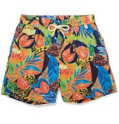 Polo Ralph Lauren - Mid-Length Printed Swim Shorts |MR PORTER