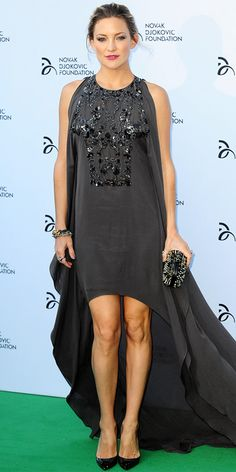 Celebrity Trend: High-Low Hem - Kate Hudson from #InStyle