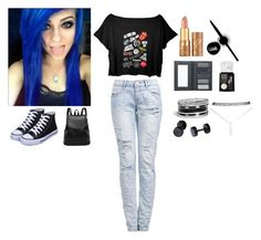 """Hey there I'm Shannon XD punk look"" by kgarciaalvare on Polyvore featuring tarte, Maybelline, Borghese, NYX, GUESS and Wet Seal"