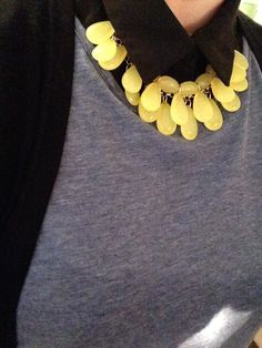 Pear Drops Statement Necklace #peardrops # statementnecklace