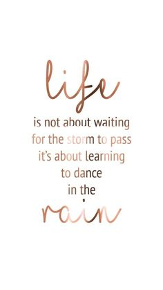 37 Great Inspirational Quotes About Motivation Rain Quotes, Dance Quotes, The Words, Great Inspirational Quotes, Motivational Quotes, Cute Quotes, Best Quotes, Beau Message, Frases Tumblr