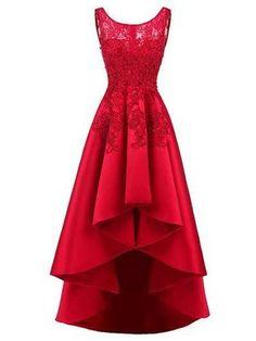 2254f774ed A-line Red Homecoming Dress Beautiful Lace Cheap Homecoming Dress # VB1380.  Ruhák SzalagavatóraSzoknyákEstélyi RuhákAlkalmi ...