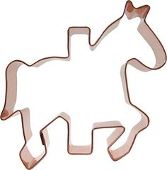 CopperGifts: Carousel Horse Cookie Cutter -- Startling review available here at : Baking Accessories