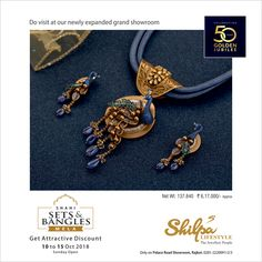 May our life radiate with everlasting love this Deepavali. Get Special Discount till Diwali. Share your Golden Memories and win Gold & Silver Coins. Gold Earrings Designs, Gold Jewellery Design, Necklace Designs, Gold Pendent, Real Gold Jewelry, Gold Set, Jewelry Patterns, Pendant Jewelry, Jewelry Sets
