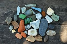 Different beach found fragments Rare Sea beach finds Large Beach Glass Genuine the Black Sea shore finds Collectible beach found objects
