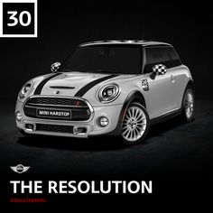 The Resolution's new year's resolution? More donuts. Design the dream MINI you resolve to get this year. #DeckTheMINI