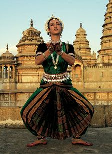Colleena Shakti, Odissi classical dancer and founder of the Shakti School of Dance in Pushkar, Rajasthan