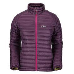 Rab Womens Microlight Jacket Aubergine gbp143