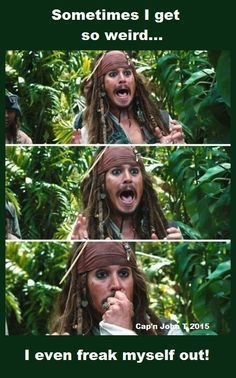 009 Pirates of the Caribbean funny Jack sparrow quotes