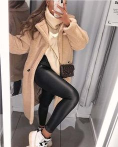 Main Inspo Page ⋆ Best Frugal Deal & Steals on - Mode outfits - Hybrid Elektronike Cute Winter Outfits, Casual Winter Outfits, Winter Fashion Outfits, Look Fashion, Stylish Outfits, Fall Outfits, Autumn Fashion, Womens Fashion, Classy Winter Fashion