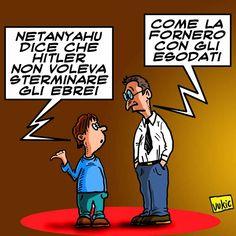 #IoSeguoItalianComics #Satira #Politica #Netanyahu #Fornero