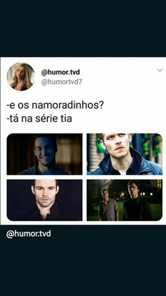 Kkkkk Exatamente Pll Memes, The Mikaelsons, Hello Brother, I Series, Icarly, Mystic Falls, Vampire Diaries The Originals, Delena, Always And Forever