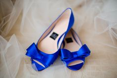 Royal blue wedding flats! Keywords: #weddings #jevelweddingplanning Follow Us: www.jevelweddingplanning.com  www.facebook.com/jevelweddingplanning/