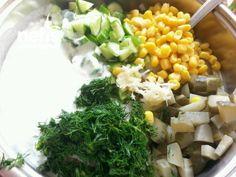Erişteli Soğuk Salata