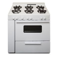 Battery Spark Ignition Gas Range With Sealed