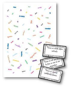 Jeu de lynx des classes de mots - La classe de Mallory - Ressources pour le CM