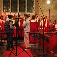 DMU Gospel Choir - recorded on location at Brooksby Church - discussion about the video.