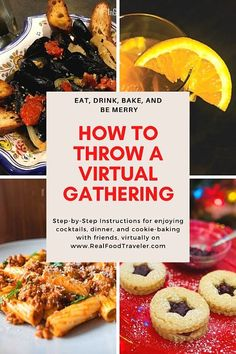 How to throw a virtual gathering during a pandemic
