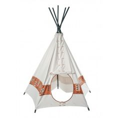 Helga Kreft Native Indian Tepee from the plains `One size Age : From 3 years old * Diameter : 175 cm Height : 210 cm http://www.MightGet.com/january-2017-13/helga-kreft-native-indian-tepee-from-the-plains-one-size.asp