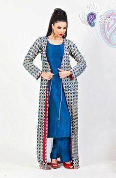 latest trend of long jackets looks beautiful