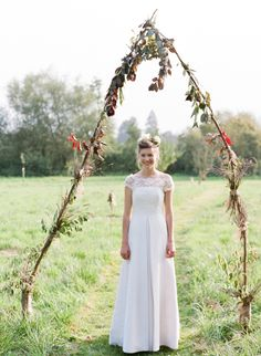 Bride  from an Autumn English Country Garden Wedding | Photography by http://rosieanderson.co.uk/