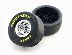 Traxxas Tires/Wheels Assembled/Glued Rear ETS Hobby Shop
