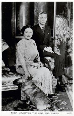 George VI and Queen Elizabeth celebrating their Silver Wedding Anniversary - 1948