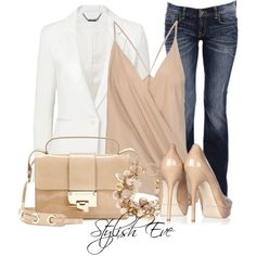 """""""Forever New Biana Jacket over Haider Ackermann Top with Jimmy Choo Bag"""" by stylisheve on Polyvore"""
