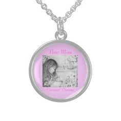 Carousel Dreams Round Sterling Silver Necklace #sterling #silver #necklace #round #mom #newmom #mommy #baby #accessories #pretty #carouseldreams #moondreamsmusic