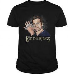 I Love Tom Brady Lord Of The Rings Tshirt Shirts & Tees
