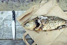 bluefish stuffed with herbs | Gabriela Herman | beetlebung farm