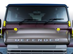 Paul Smith teams up with Land Rover for a one of a kind Defender. A colorful Defender from the famed and eccentric British designer.