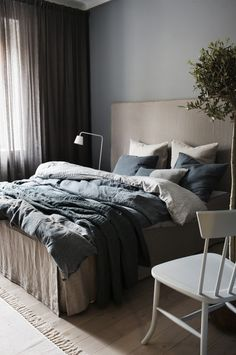 Home Decor Recibidor The Best Scandinavian Bedding Brands Scandinavian Bedding, Scandinavian Bed Covers, Contemporary Bedroom, Furniture Styles, Furniture Ideas, Furniture Design, Luxury Apartments, Luxurious Bedrooms, Home Decor Kitchen