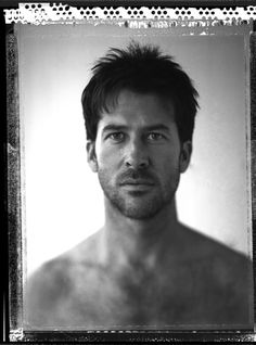 From a Portfolio of male actors by John A Russo called About Face.   Actor Joe Flanigan.