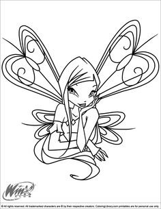 Winx Club Coloring Pages And Sheets Find Your Favorite Cartoon Picures In The Library