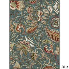 Caprice Transitional Area Rug | Overstock™ Shopping - casual paisley transitional area rug in colorful shades that is an adorable alternative to traditional