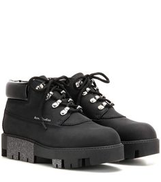 ACNE STUDIOS Tinne leather boots. #acnestudios #shoes #boots