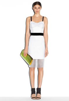 sporty cool / BUSTIER STRAP DRESS - Just In MILLY NY