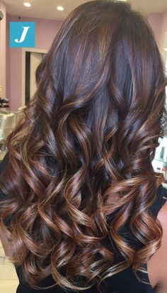 Hair Color Trends For Brunettes Highlights Curls 51 Ideas Low Ponytail Hairstyles, Pretty Hairstyles, Hairstyle Ideas, Easy Hairstyle, Bridal Hairstyle, Ombre Hair Color, Brunette Hair, Hair Highlights, Balayage Hair