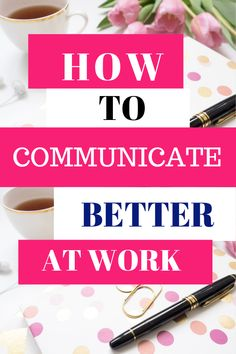 We all understand the importance of communication at workplace but not all of us are naturally good communications. Here are 7 tips on how to communicate better at work/office Importance Of Communication, Communication Quotes, Improve Communication, Effective Communication, Communication Boards, How To Communicate Better, Organizational Communication, Preschool Special Education, Self Improvement Tips