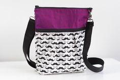 Mustache purse