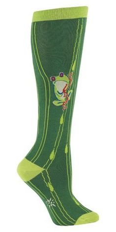 Sock It To Me FROG Womens Knee Socks Sock It To Me. $19.99