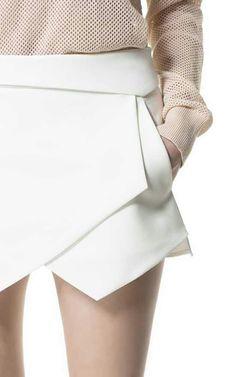 Chanel. Wrap skirt.